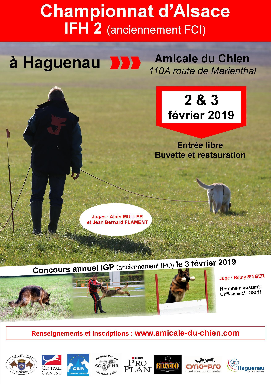 Championnat d'Alsace 2019